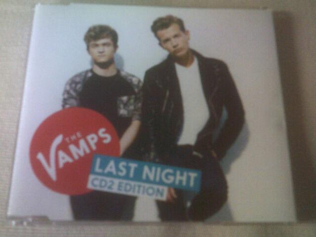 THE VAMPS - LAST NIGHT - UK CD SINGLE - PART 2