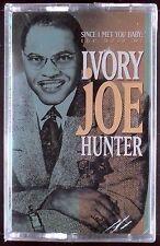 Ivory Joe Hunter-Since I Met You Baby:Best of LP CASSETTE RAZOR TIE SEALED OOP