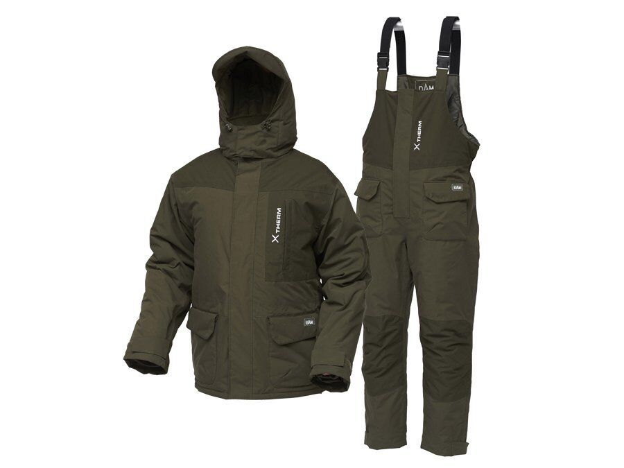 D.a.m xtherm inverno suit MXXXL 2ceco thermoanzug 100% POLIESTERE NUOVO 2019