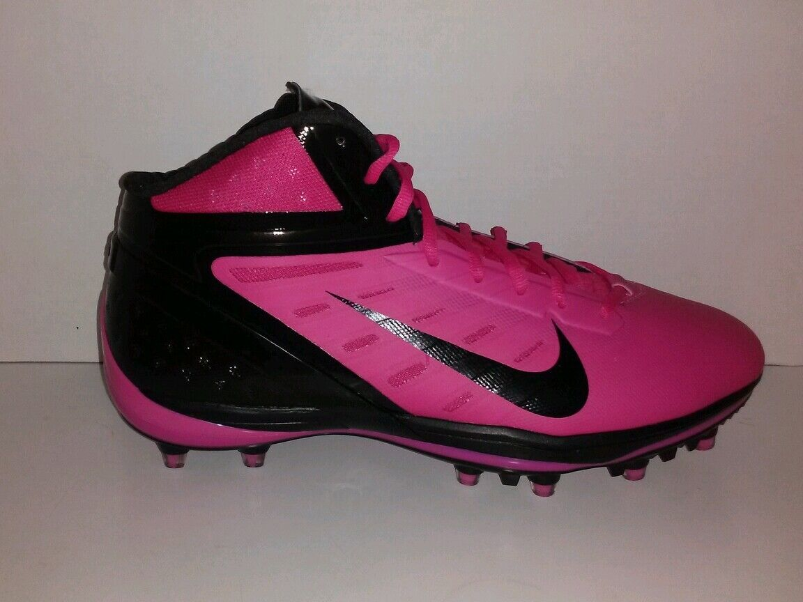 Nike alpha talon elite 3 / 4 football scarpette rosa sz