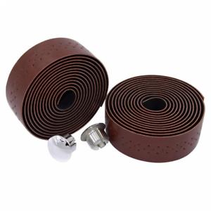 KINGOU Handlebar Tape Luxury PU Leather Bar Fixed Gear//Road Bike Wrap