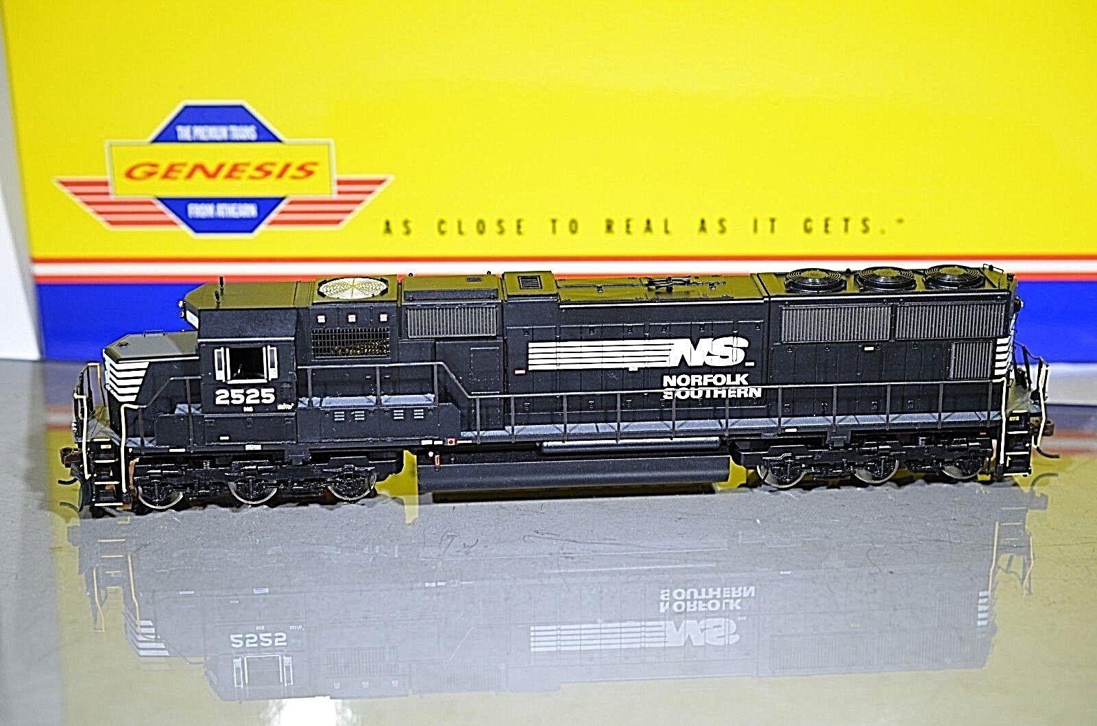ATHEARN GENESIS NS Norfolk Southern SD70  2525 HO Diesel Locomotive G6115 NEW