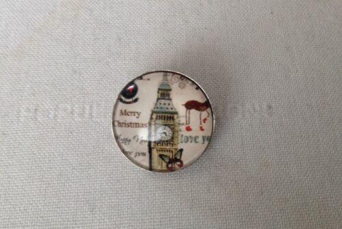 Noosa Estilo Snap fragmento Botones-Landmark Tema-Shabby Chic-Reino Unido Vendedor