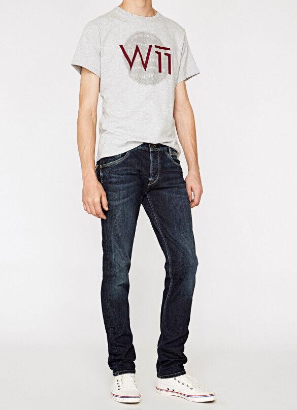 Pepe Jeans  SPIKE 11oz Streaky Stretch DK Herrenjeans   Guter weltweiter Ruf    Hohe Qualität und geringer Aufwand