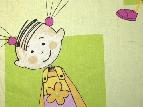 Sweet Princess Print Cotton Dress Fabric EM-SweetPrincess2731-Lime-M