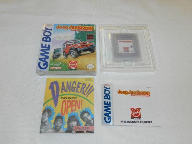 Jeep Jamboree Off Road Adventure Nintendo Game Boy Complete in Box Original