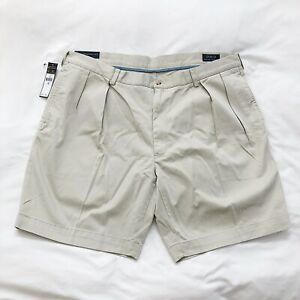 Polo Ralph Lauren Men/'s Shorts Tan Pleated Classic Fit NWT