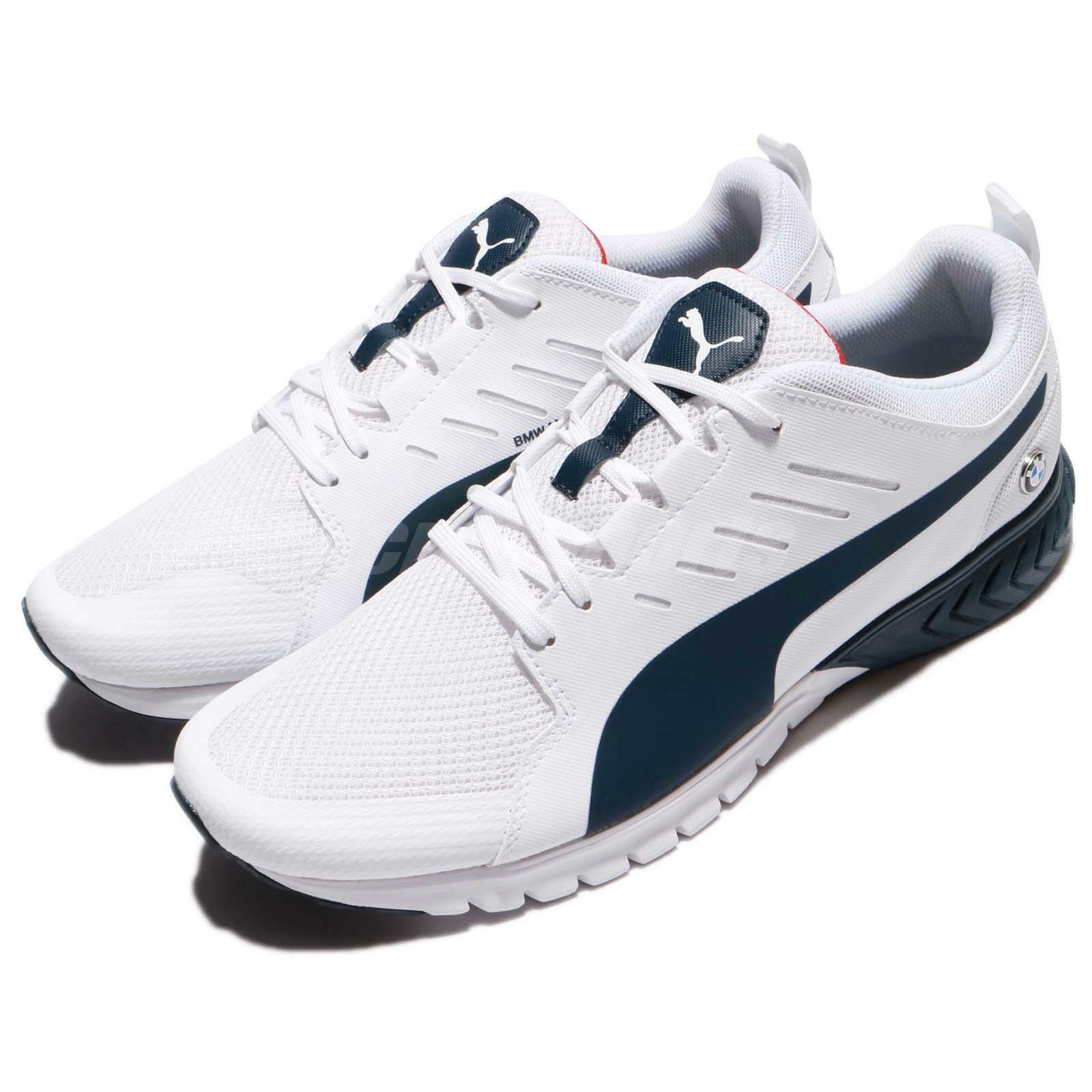 Puma BMW MS Pitlane White Team Blue uomo Shoes Sneakers Trainers 305991-02 Scarpe classiche da uomo