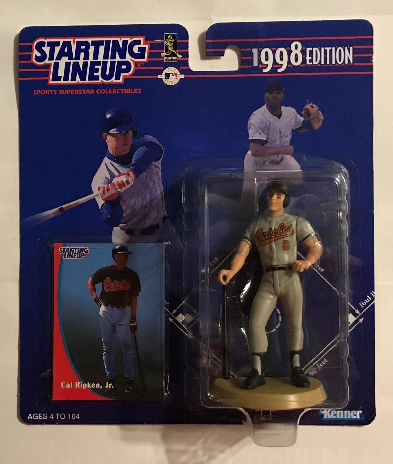 1998 STARTING LINEUP - CAL RIPKIN, JR. - ORIOLES - ACTION FIGURE