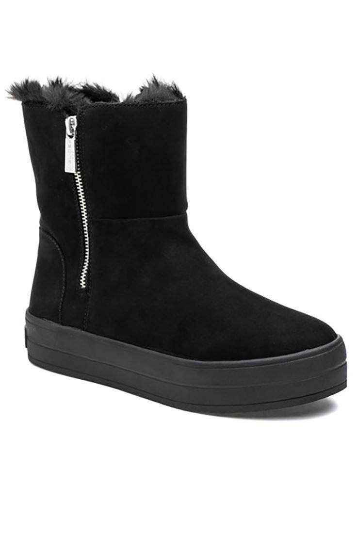 Sconto del 70% a buon mercato J Slides Henley Faux Fur Lined Lined Lined avvioie Platform Ankle stivali nero Dimensione 6 NIB  170  il prezzo più basso