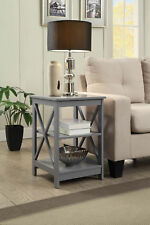 Convenience Concepts Oxford End Table Gray - 203085GY