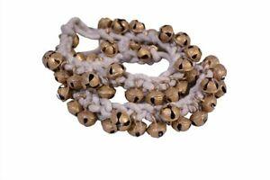 1.6cm White Cotton String Ghungroos 200-Ghungroos