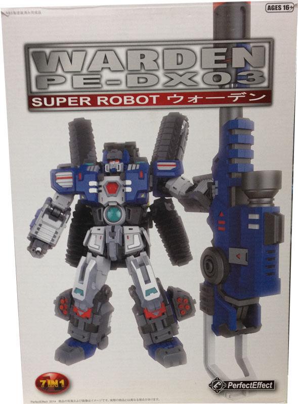 Hommesthe en Boîte Scellée Transformers PARFAIT effet PE-DX03  Warden (forteresse Maximus vers)  magasin fashional à vendre