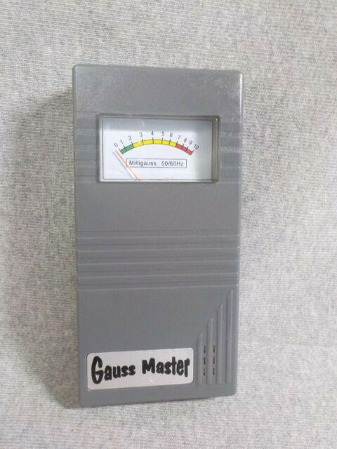 GAUSS MASTER EMF GHOST HUNTING Hunters Equipment METER detector New