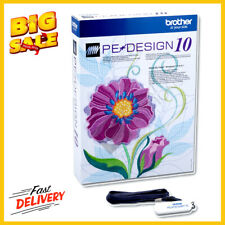 Brother Pe Design 10 Digitizing Embroidery Software For Sale Online Ebay