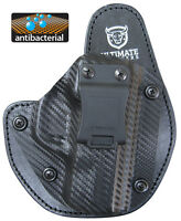 Best S&w Shield Hybrid Holster -most Comfortable Antimicrobial Padding -carbon