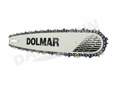 """DOLMAR Schwert 3//8/"""" 45 cm 2 Sägeketten für DOLMAR PS-5105"""