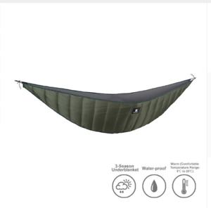 Image is loading C&ing-Hammock-Under-Tent-Sleeping-Bag-Warm-Liner-  sc 1 st  eBay & Camping Hammock Under Tent Sleeping Bag Warm Liner Winter Warm ...