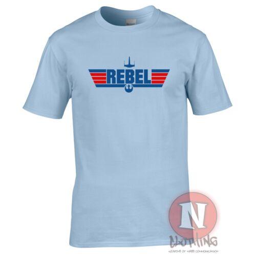 Rebellierend T-Shirt Star Wars Topgun Lustig Scherz T-Shirt T-Shirt