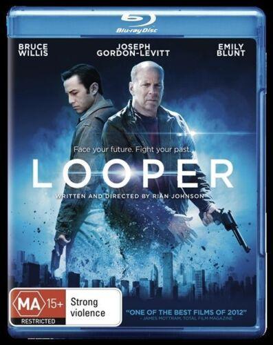 1 of 1 - Looper (2012) Joseph Gordon-Levitt, Bruce Willis - NEW - Blu-Ray