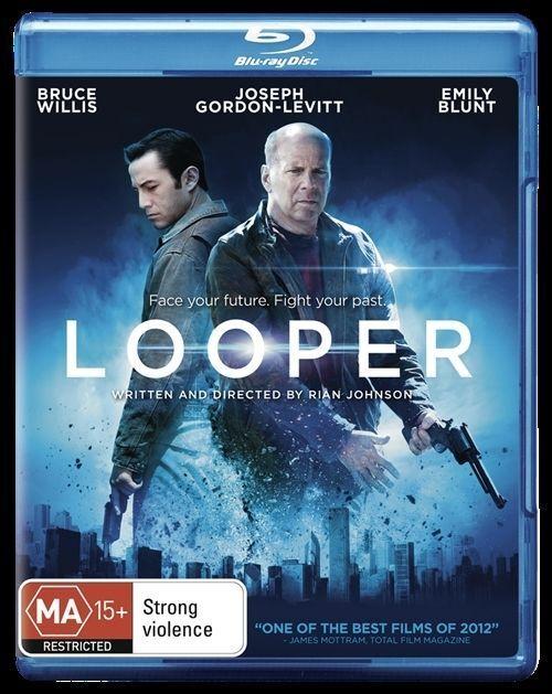 Looper (Blu-ray, 2013) Genuine & unSealed (D118)