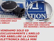 SOLO ANELLO DECORATIVO CROMATO PER GUSCIO CHIAVE TELECOMANDO MINI GUARDARE FOTO