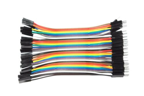 Dupont Jumper Cable Wire 10cm 10x 20x 40x Arduino PICAXE Raspberry PI Micro:Bit