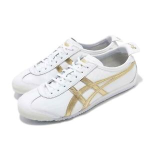 Details about Asics Onitsuka Tiger Mexico 66 White Gold Men Womens Running  Shoes 1183A499-101