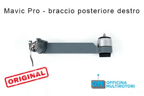 DJI Mavic Pro Back Right Arm Braccio Motore Posteriore Destro Ricambi