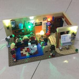 Image is loading Led-Light-Kit-Only-For-Lego-21302-The- & Led Light Kit Only For Lego 21302 The Big Bang Theory Lighting ...