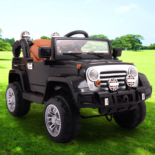 12v Jeep Style Kids Ride On Truck Battery Ed Electric Car W Remote Control