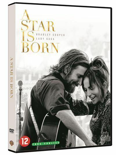 A STAR IS BORN - Bradley Cooper Et Lady Gaga - DVD NEUF SOUS BLISTER