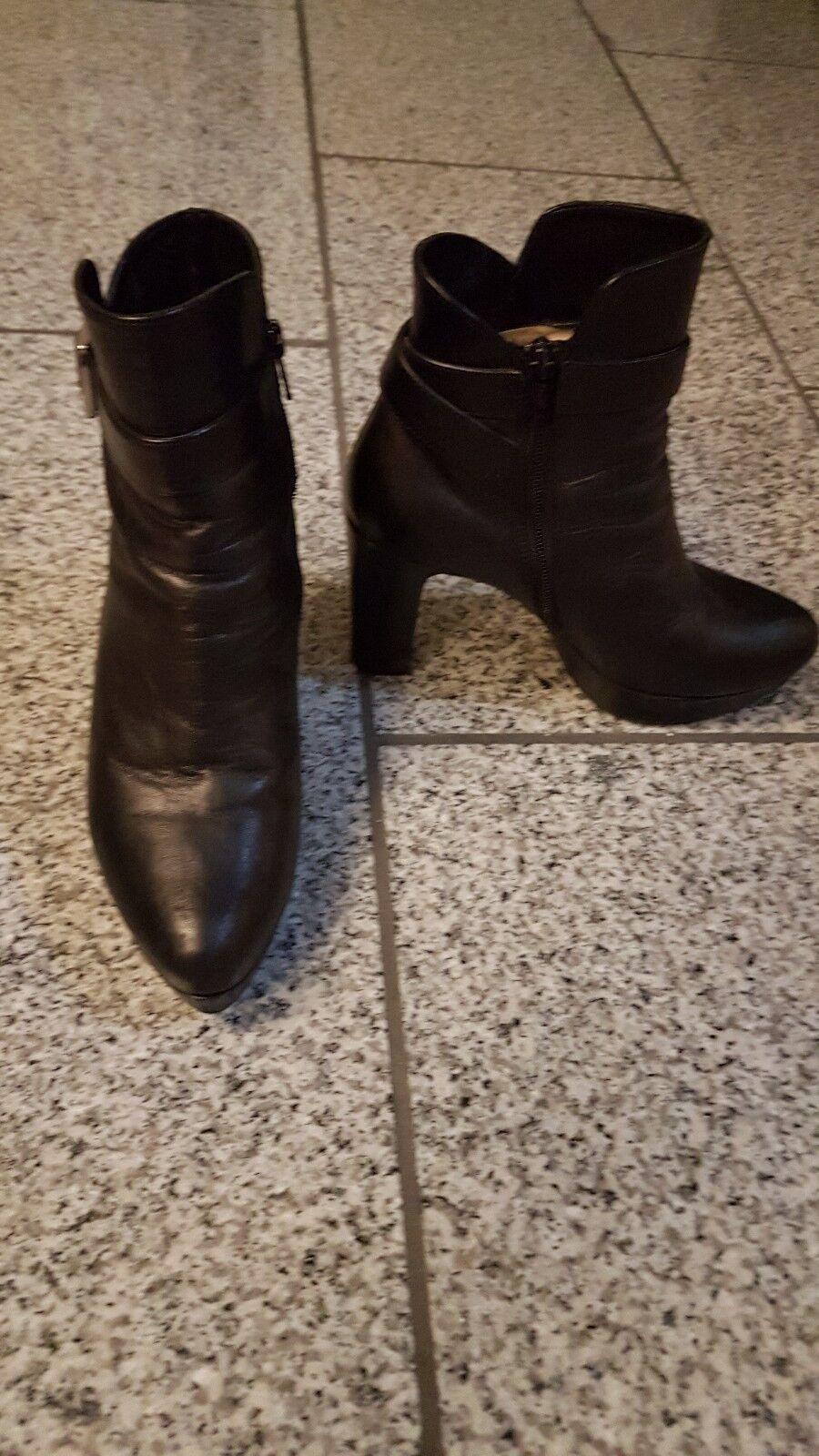 Damenstiefel 37 In Schwarz von  Unisa in echte Leder sehr elegant