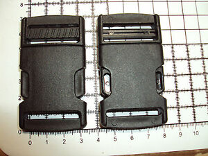 2pcs-Plastic-Side-Release-Buckles-For-Webbing-30mm-Bags-Straps-Clips-034-P-034