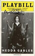 MICHAEL CERVERIS In-person Signed Playbill - Hedda Gabler - Opening Night