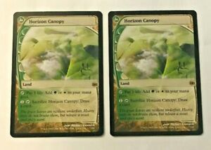 2x-Horizon-Canopy-NM-x2-Future-Sight-Rare-Magic-The-Gathering-MTG-Hard-8s-Magic