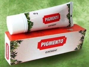 Herbal Treatment For Vitiligo White Patches On Skin Charak Pigmento Cream 50 Gm Ebay