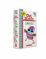 Owl Diaries Books 1-5: A Branches Box Set Free Shipping