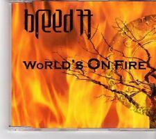 (FK445) Breed 77, World's On Fire - 2004 CD