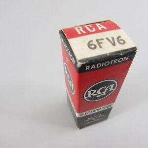 NOS-NIB-RCA-6FV6-Vacuum-Tube