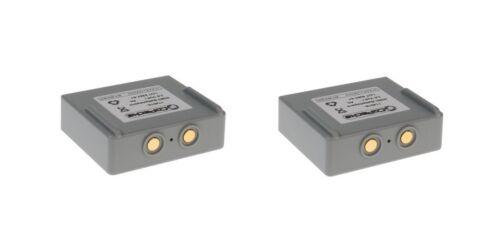 2 x Akku für Hetronic Harris P5470 P7300 P7370 Kransteuerung P7350