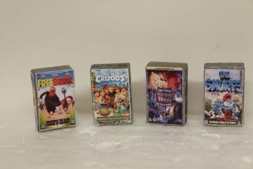 4 vidéos Maison de poupées