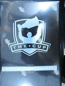 2011-12-UD-THE-CUP-HOCKEY-HOBBY-SEALED-BOX