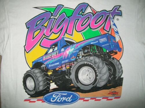 1997 FORD BIGFOOT MONSTER TRUCK T SHIRT LARGE AUGS