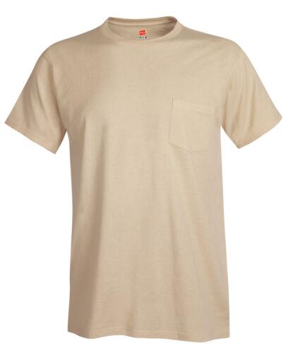 Hanes Nano-T Short Sleeve T-Shirt with Pocket 498P