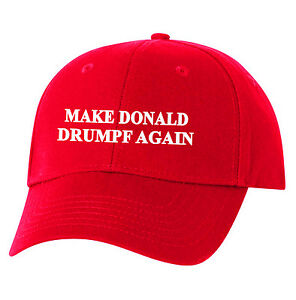 Image is loading Make-Donald-Drumpf-Again-Hat-Embroidered-Resist-John- b078af372a4e