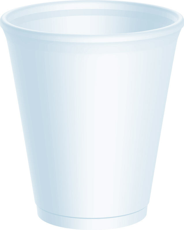 1000 x Dart 16oz Strong Foam Polystyrene Cups Disposable for Hot   Cold Drinks