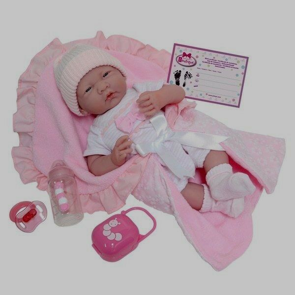 Berenguer Berenguer Berenguer Boutique Baby Girl Doll  15.5  Soft Bodied & Birth Certificate acc4fb