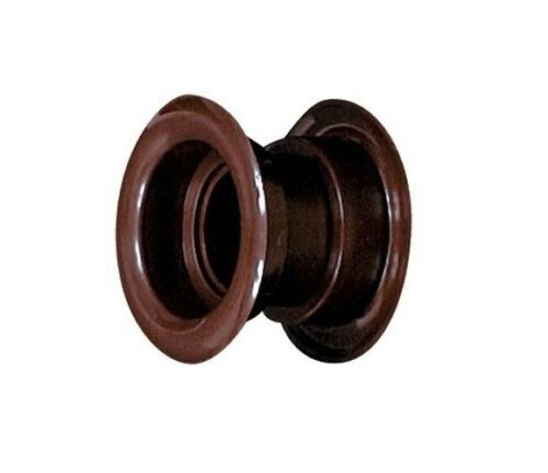 MARRON PORTE Aération 55mm//5.1cm Double Face Couvercle de ventilation plastique