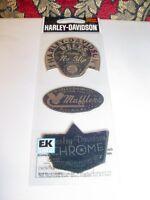 One Harley Davidson Sticker